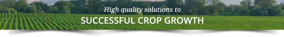 High quality solutions to successful crop growth
