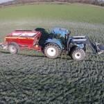 agricultural lime spreader