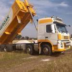 agricultural lime tipping